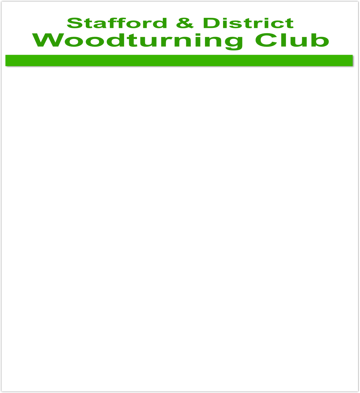 Woodturning Club